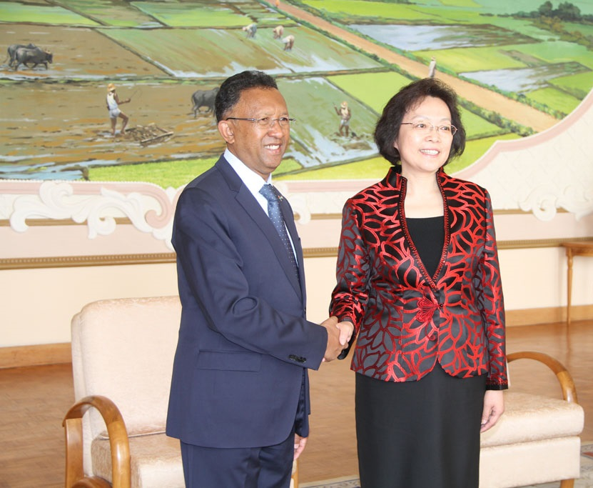 Accords signés entre la Chine et Madagascar