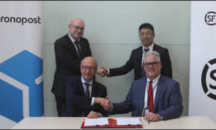 Chronopost s'associe au chinois SF Express